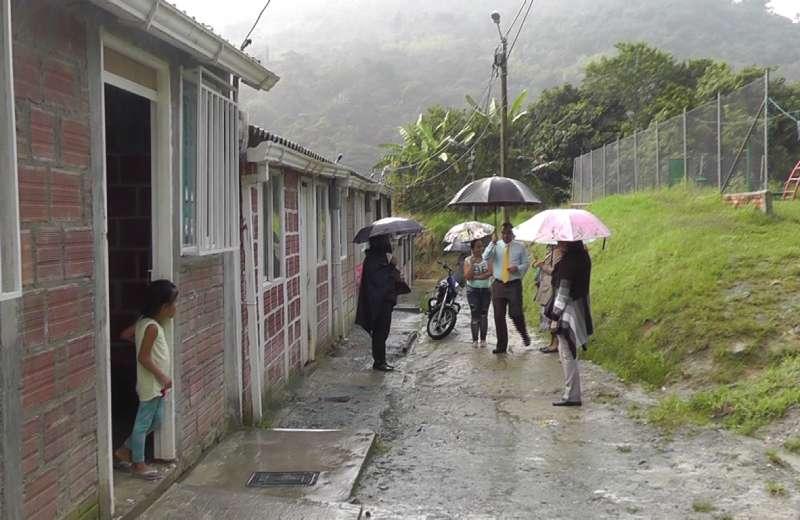 Difícil situación en barrio Los tejares, en el municipio de Génova