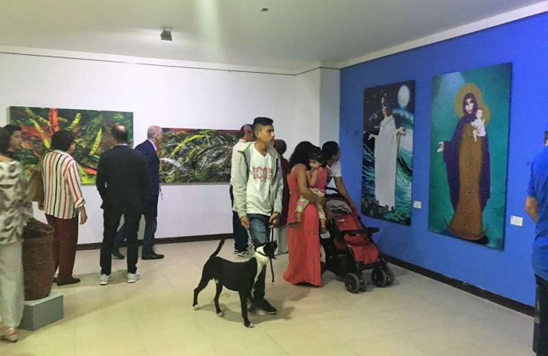 El arte quindiano pasa del museo a la gente