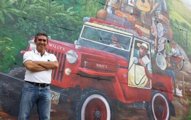 Por los caminos del Quindío. El mural más grande del departamento