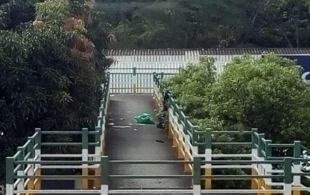 En Proviteq prefieren pasar la avenida que cruzar el puente debido al miedo e inseguridad